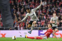 'Бенфика' - 'Шахтер': видеообзор матча Лиги Европы