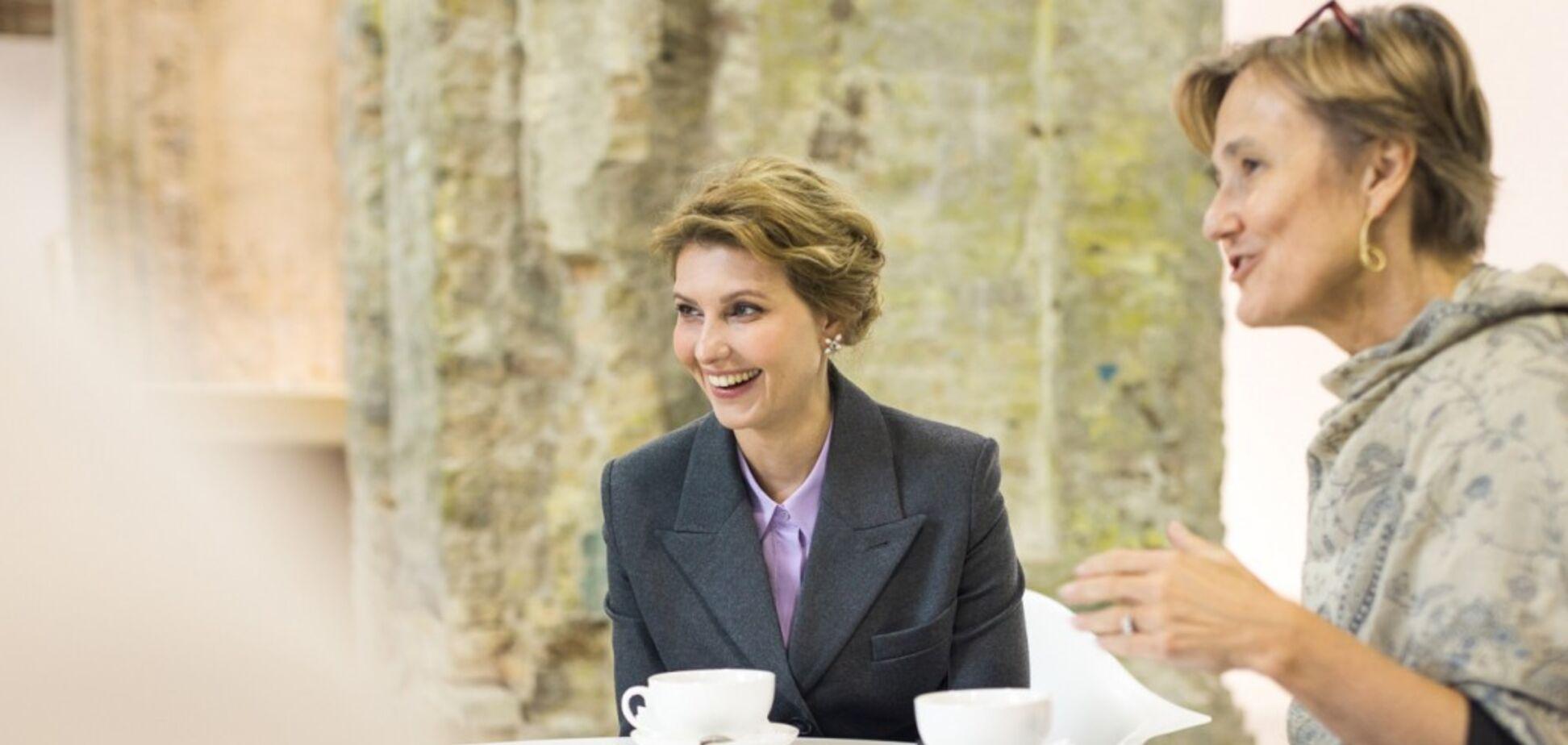 Олена Зеленська на зустрічі з Анкой Фельдгузен