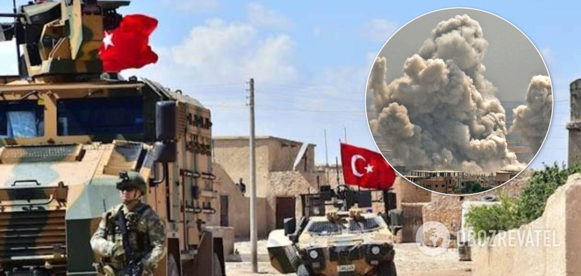 Турция показала видео мощных ударов по армии Путина и Асада в Сирии: жесткие кадры