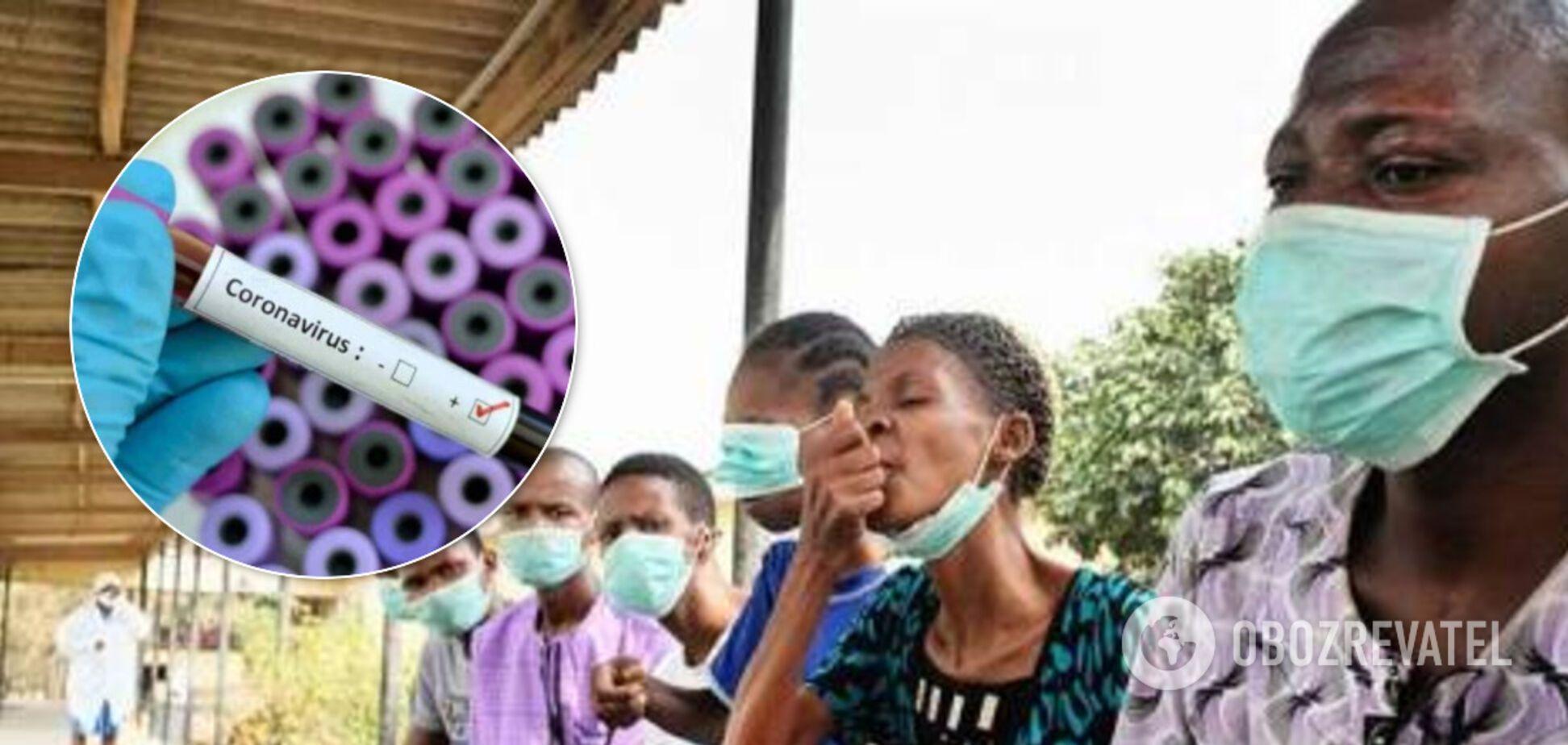 Коронавирус атаковал Черную Африку: последние данные