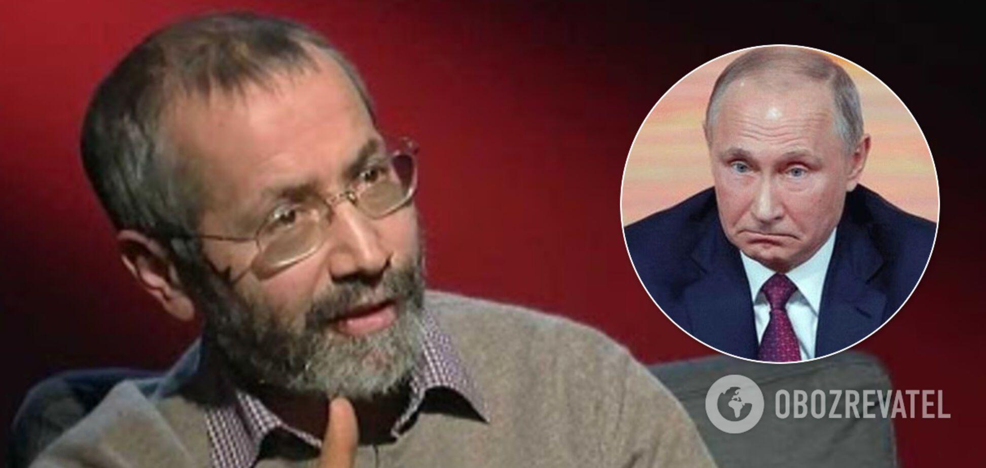 Радзиховский: проект 'Новороссия' закрыт, у Путина осталось два варианта