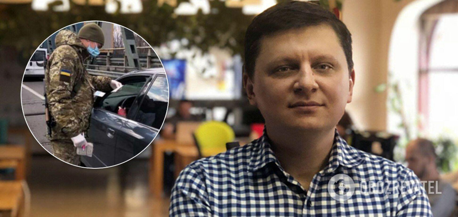 Радник Гончарука захотів прилаштувати хворих на коронавірус із 'Л/ДНР' в Україні