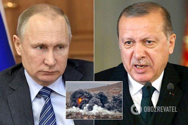 Путин и Эрдоган провели телефонный разговор по Сирии