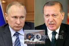 Путин экстренно созвонился с Эрдоганом из-за боев в Сирии