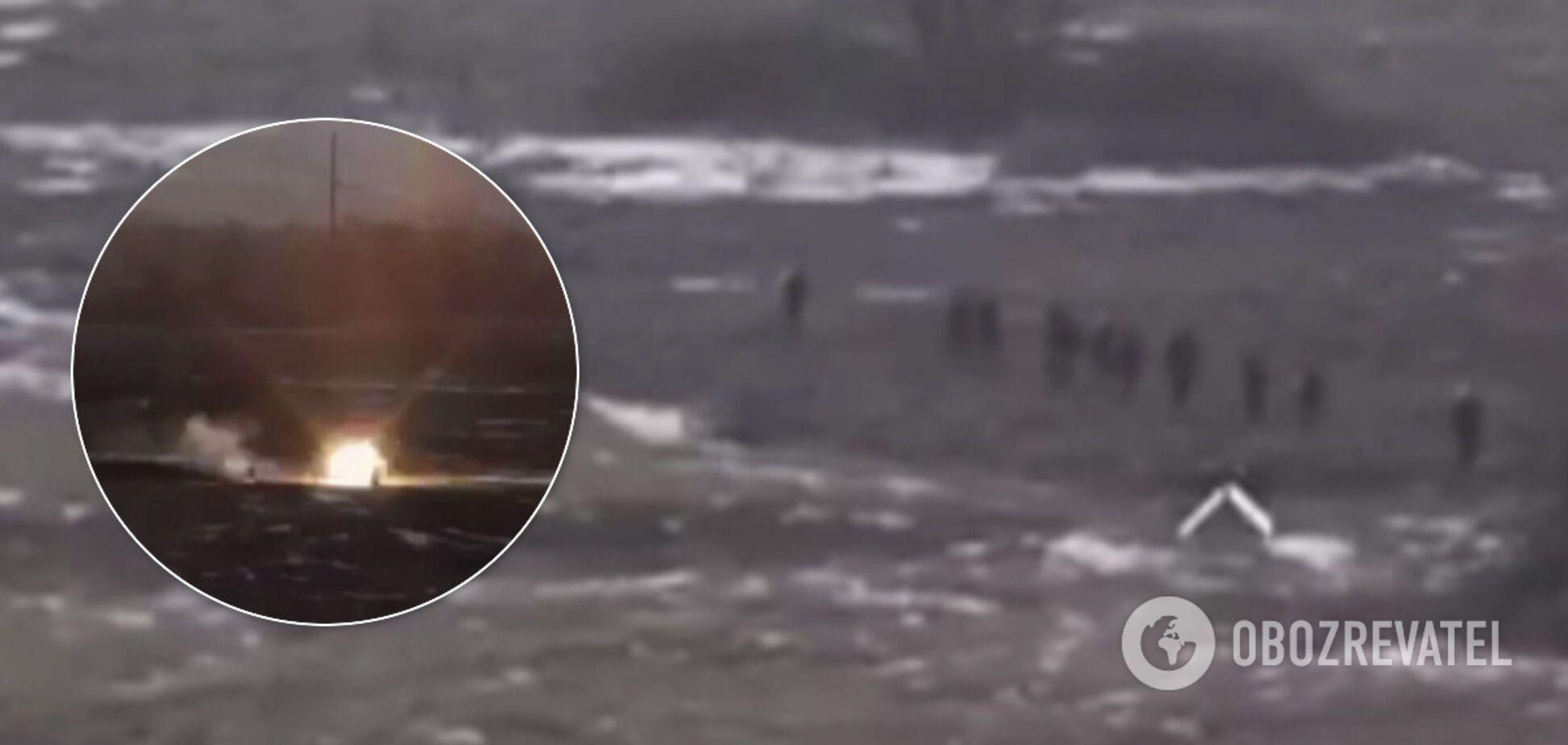 Появилось видео подлой атаки войск Путина на ВСУ под Золотым
