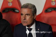 Каштру прокомментировал результат матча с 'Бенфикой' в Лиге Европы