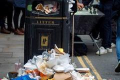 У Британії запропонували ввести величезні штрафи за сміття на вулицях