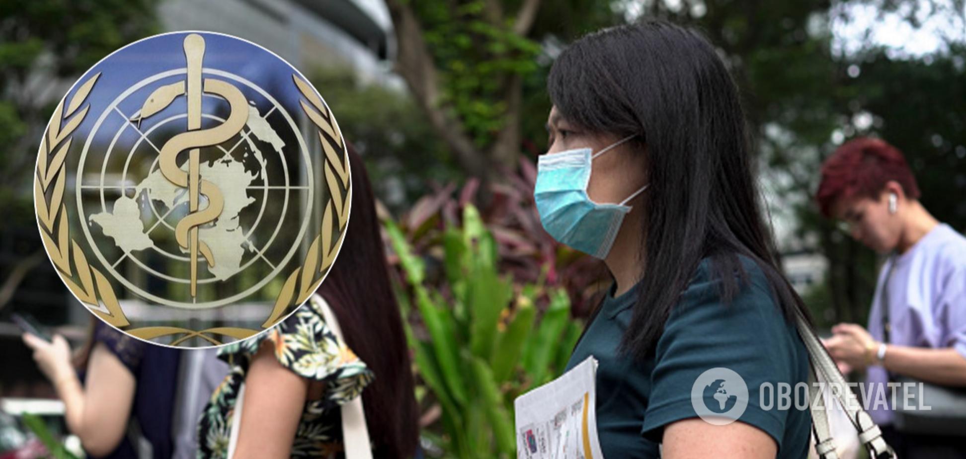 ВООЗ підвищила рівень ризику коронавірусу до дуже високого