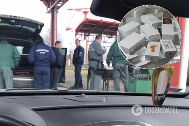 Колишній митник намагався ввезти в Україну iPhone на 100 тисяч євро