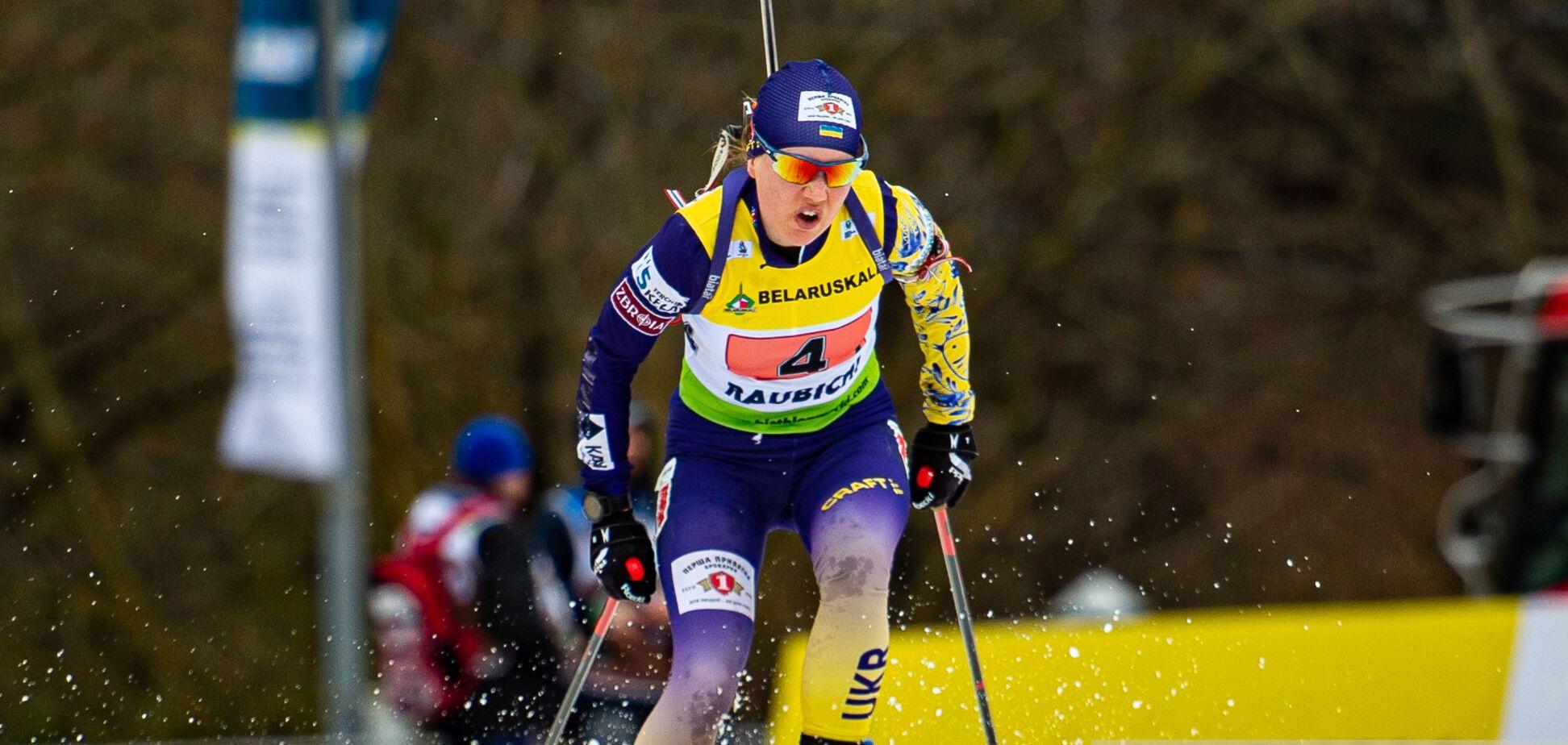 Українки залишилися без медалей в спринті чемпіонату Європи з біатлону