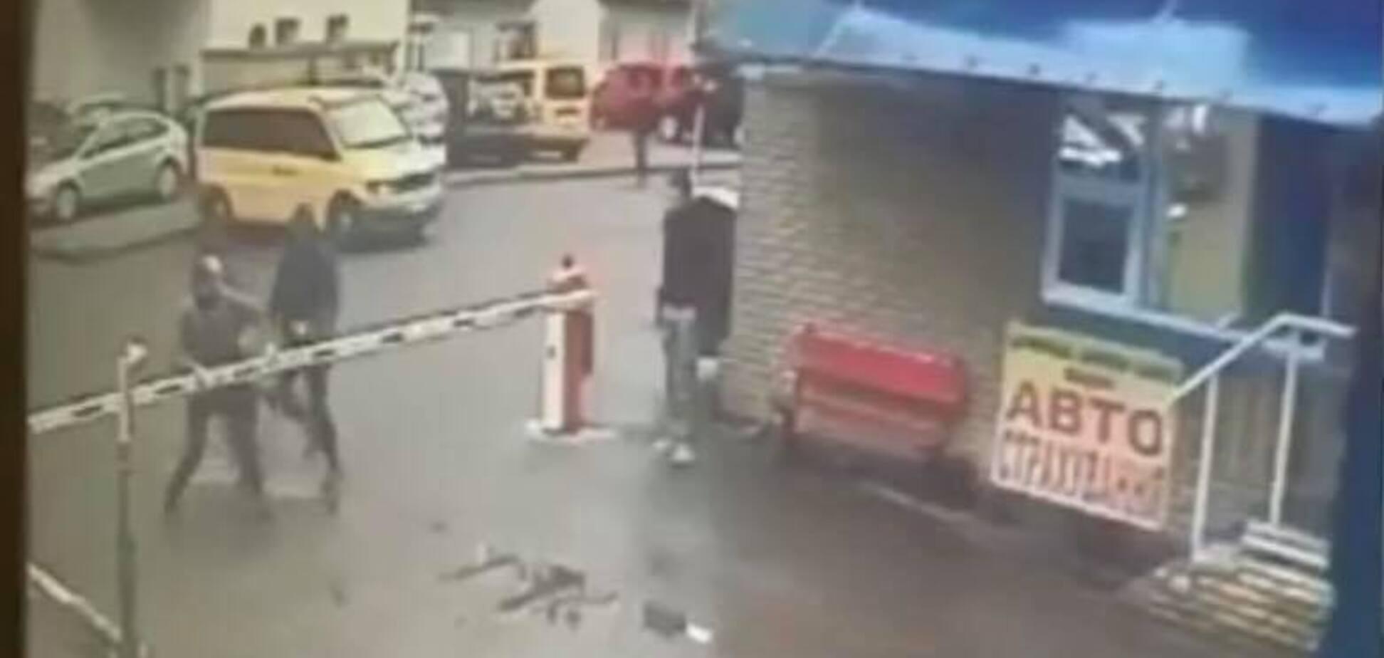 У Києві побили бізнесмена