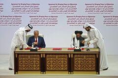 США и движение 'Талибан' подписали исторический документ