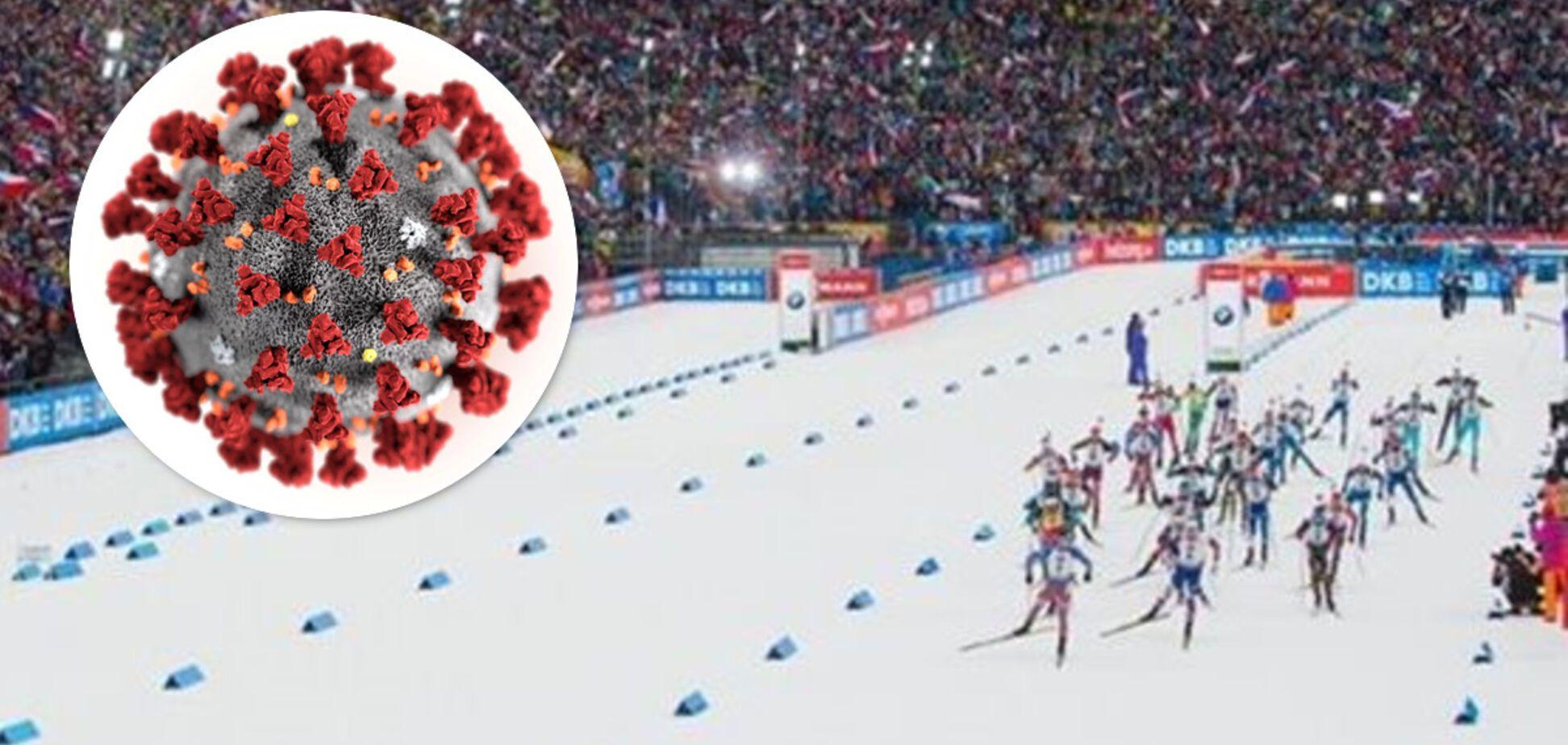 Коронавірус і Кубок світу з біатлону