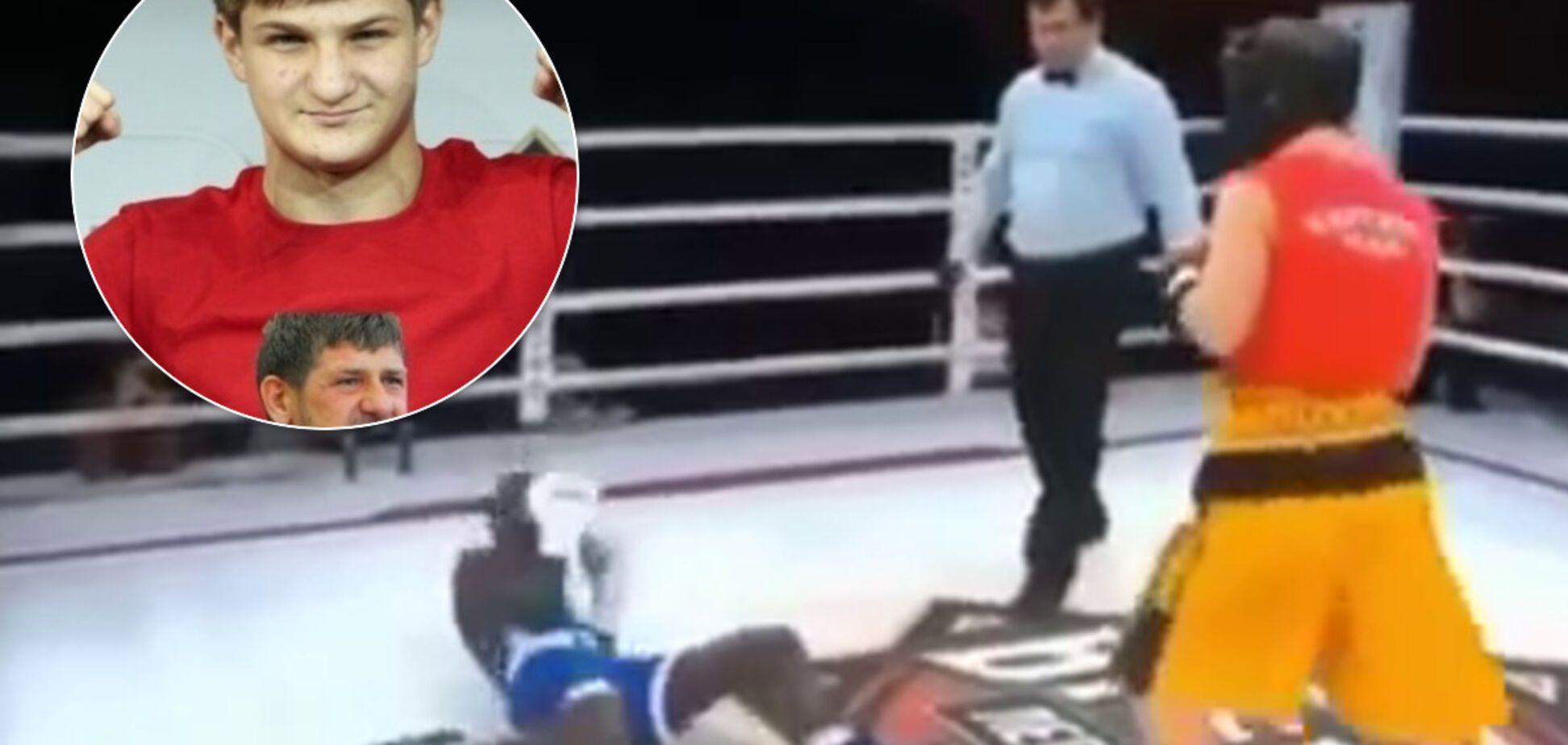 Кадыров купил соперника для сына-боксера и стал посмешищем