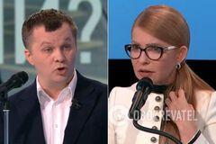 Милованов поспорил с Тимошенко
