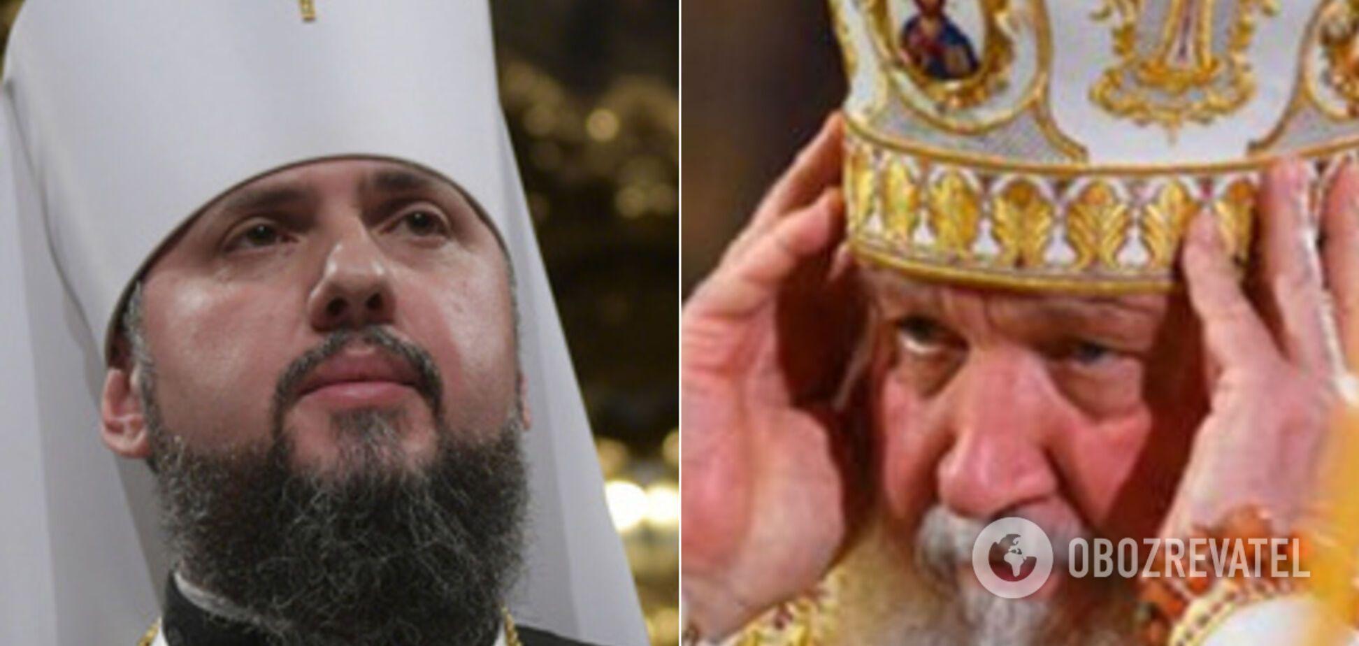 У Росії сполошилися через можливу зустріч Кирила та Епіфанія: Константинополь мовчить