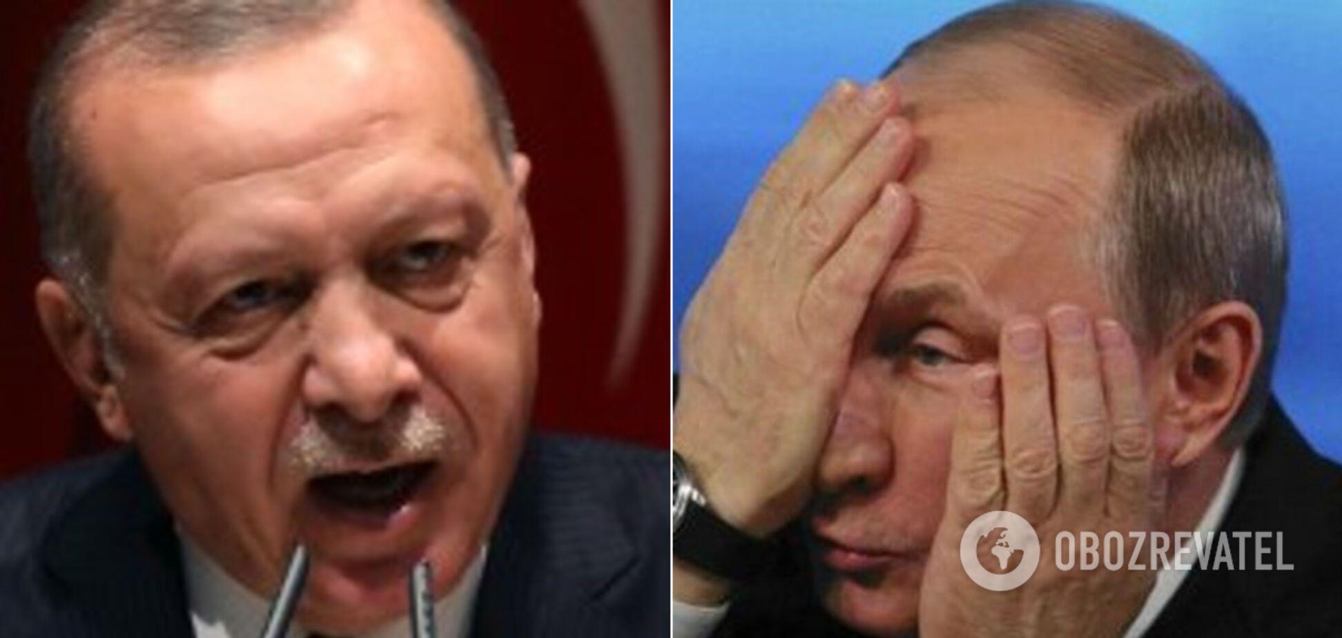 Эрдоган жестко обратился к Путину из-за Сирии
