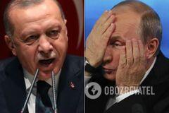 Ердоган жорстко звернувся до Путіна через Сирію