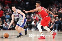 Українець Михайлюк провів переможний матч у НБА