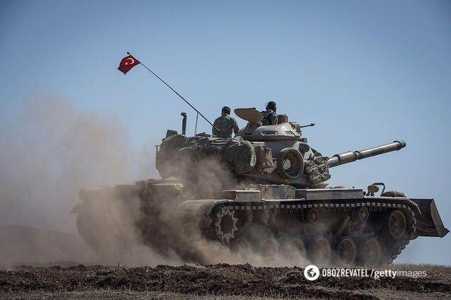 Войска Турции в Сирии