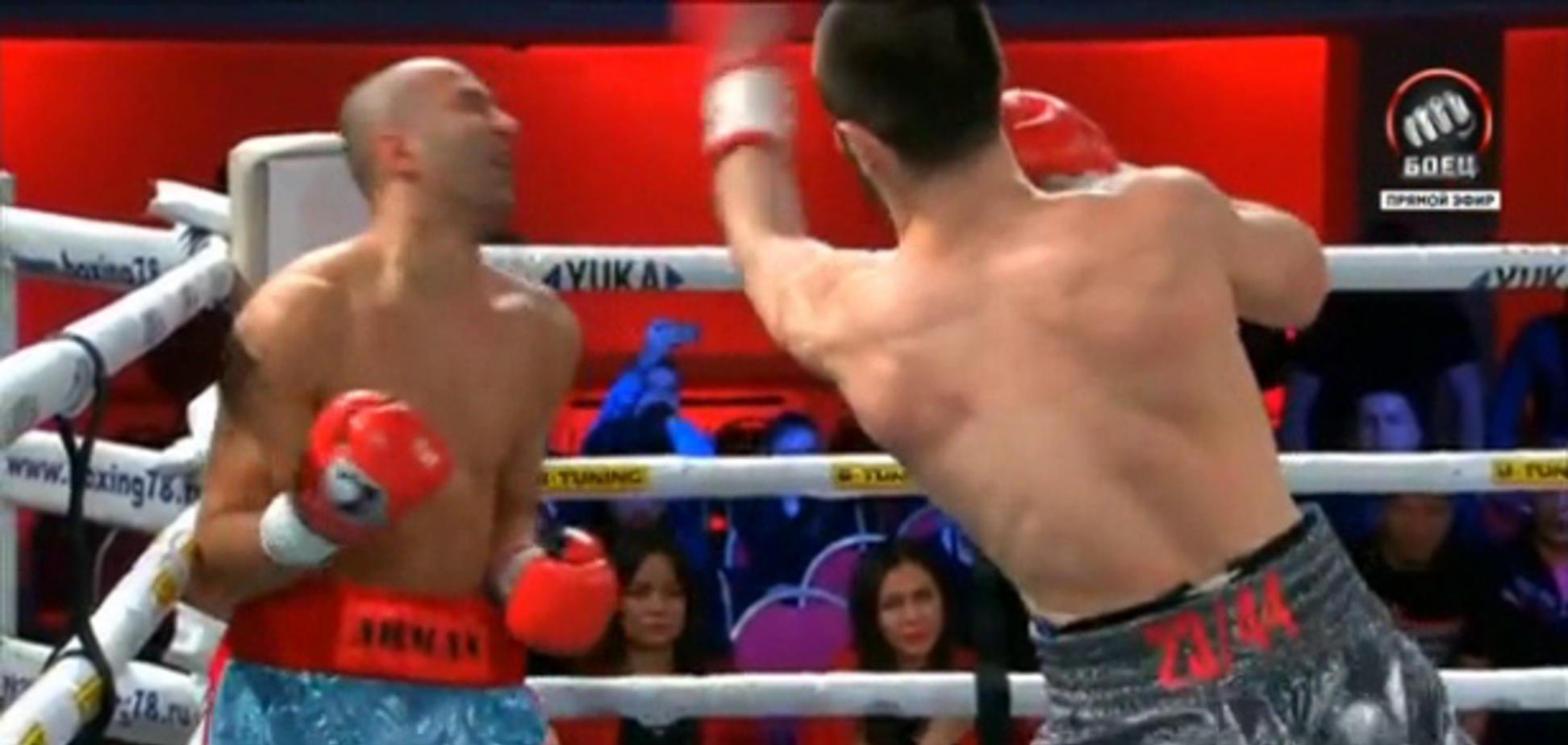 Байсангуров, який крикнув 'Слава Україні!', переміг нокаутом Торосяна
