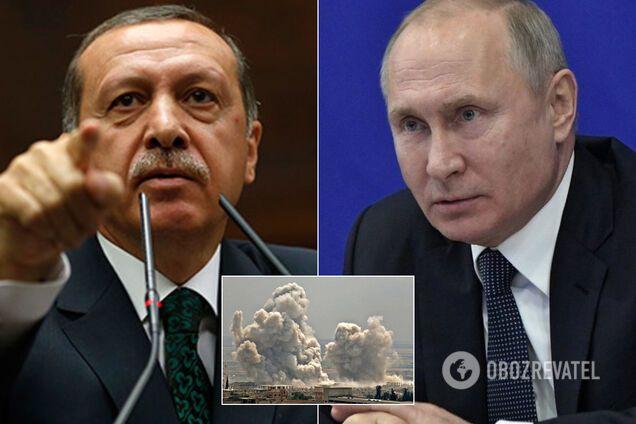 Ердоган і Путін зустрінуться в Москві через Сирію