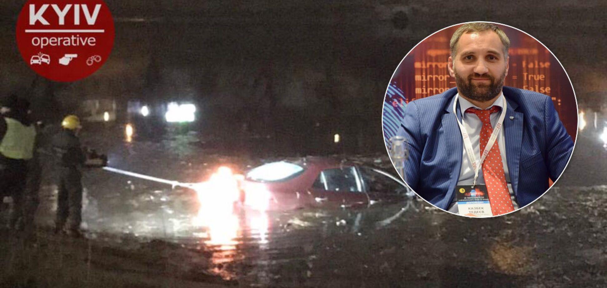У Русанівський канал впала машина: як вдалося врятувати молоду пару