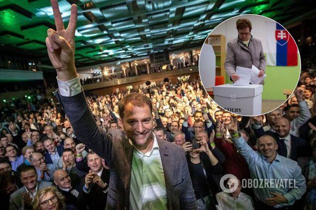 Опозиційна партія перемогла на виборах у Словаччині