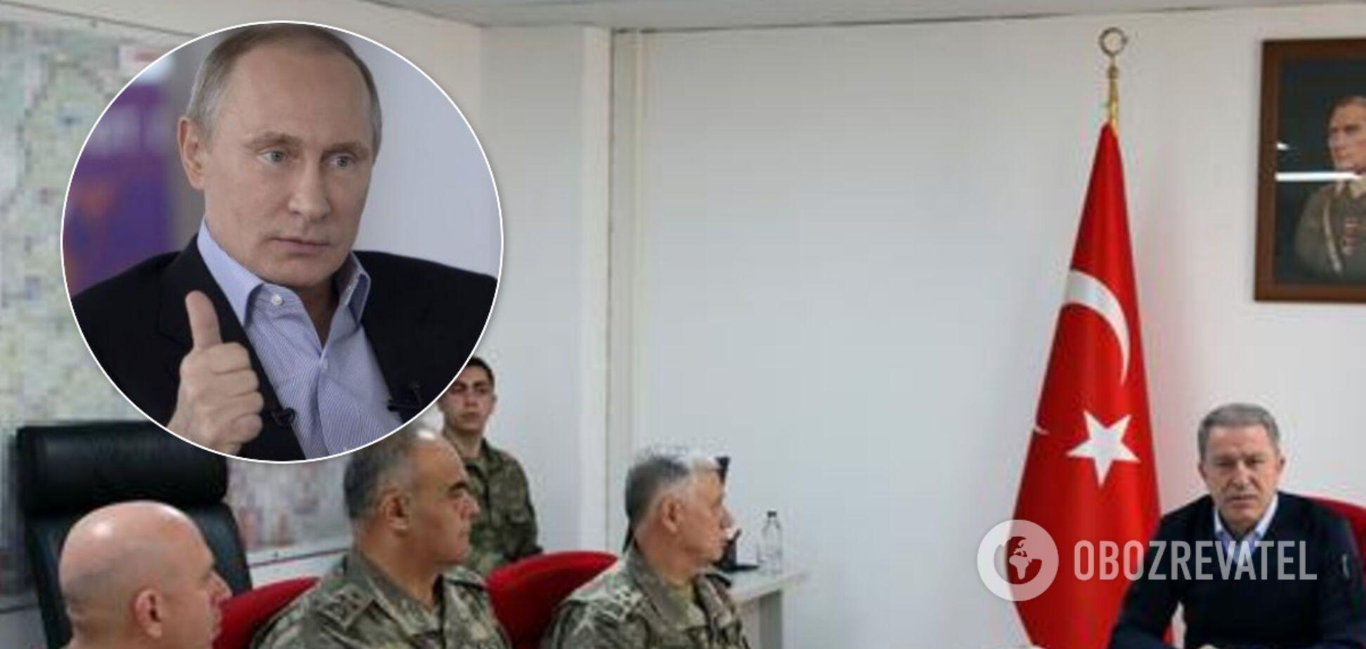 Туреччина оголосила операцію 'Весняний щит' у Сирії і підморгнула Путіну