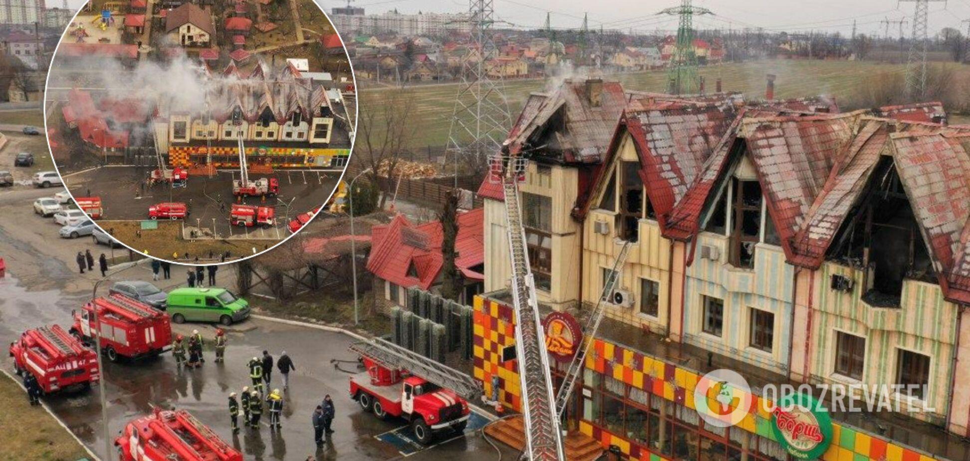 З'явилися подробиці пожежі в готелі біля АЗС під Києвом
