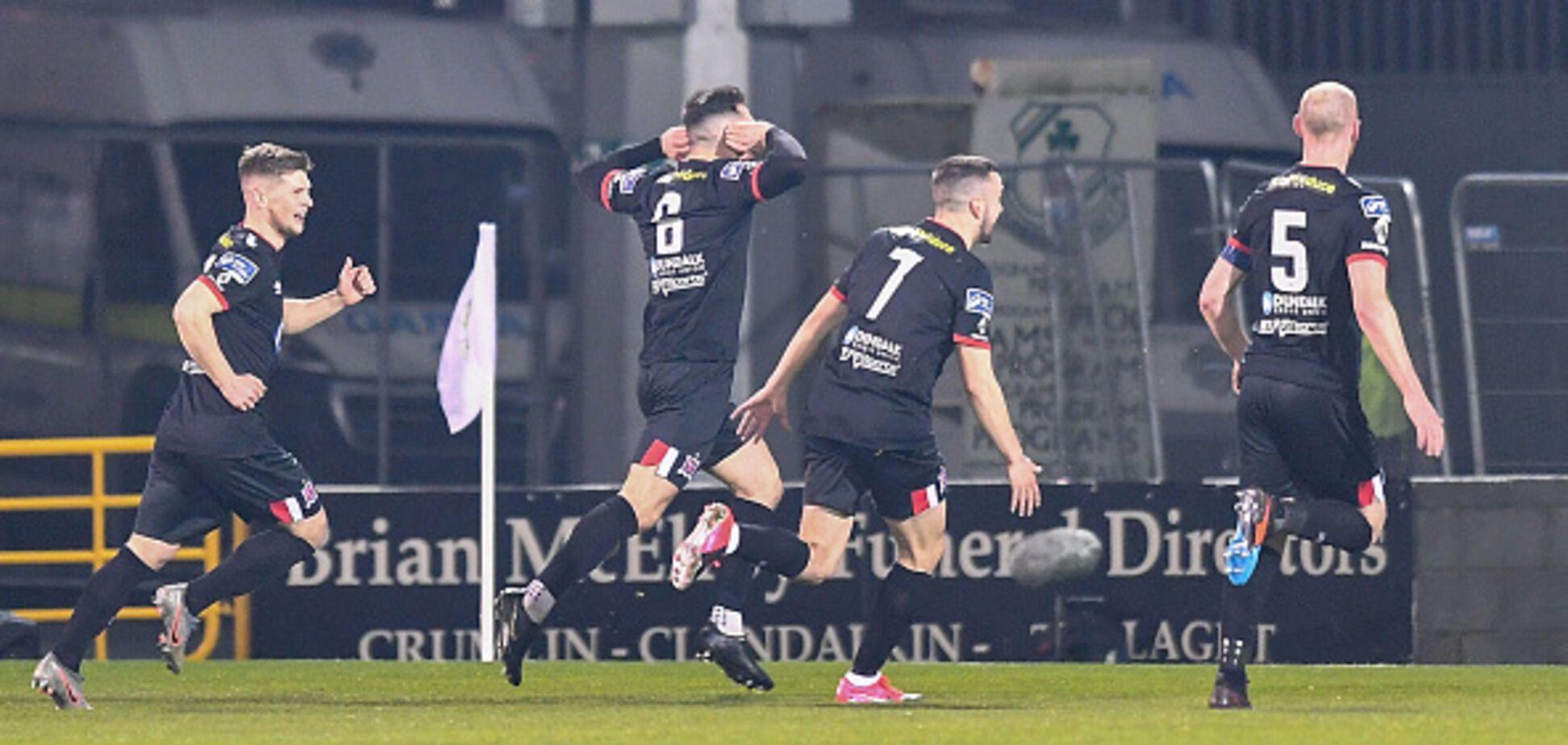 Футболист 'Дандолка' Джордан Флорес забил невероятный гол с разворота