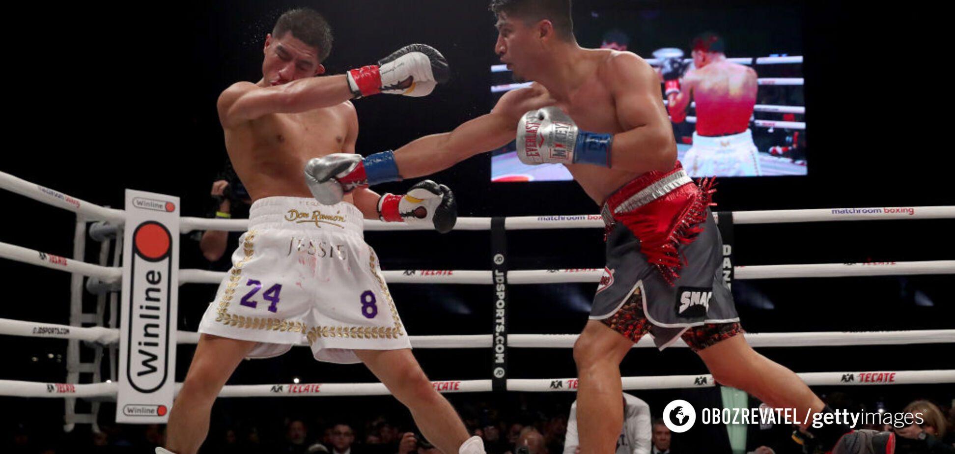 Майкі Гарсія з нокдауном переміг Джессі Варгаса та став 'діамантовим' чемпіоном WBC