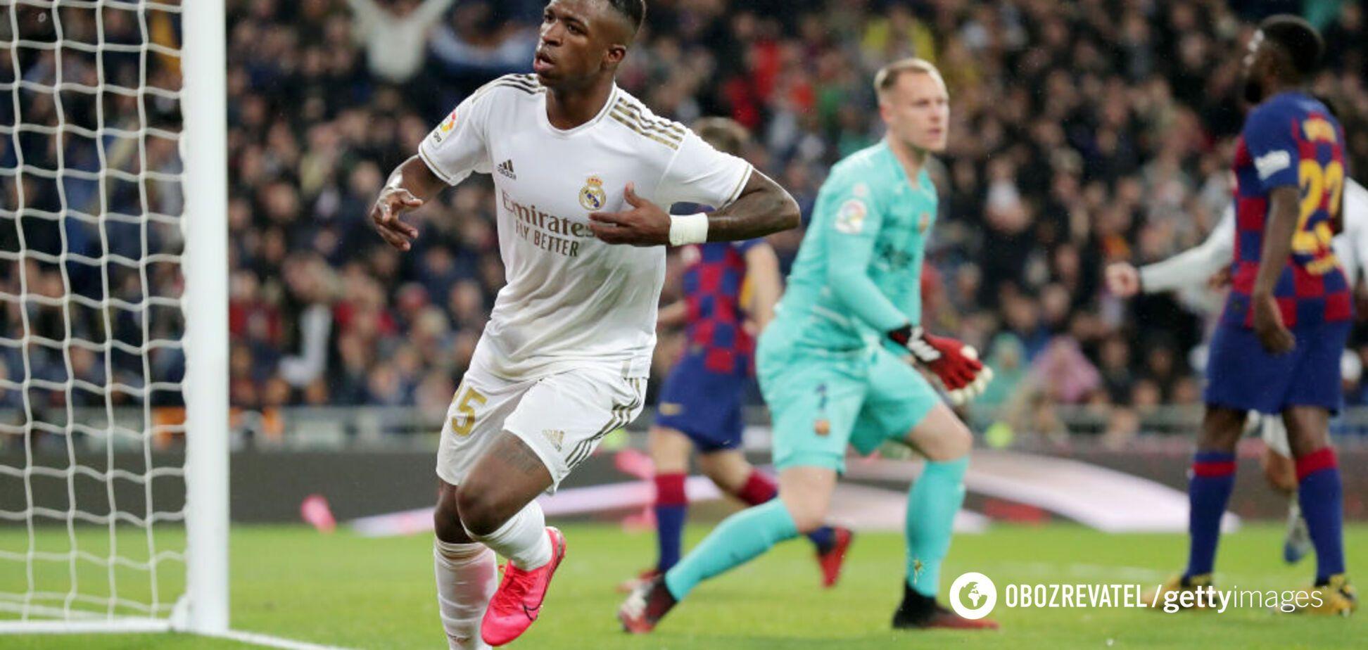 'Реал' обіграв 'Барселону' в Ель-Класико і вийшов на перше місце в Ла Лізі