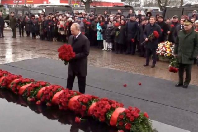 Володимир Путін у Пскові