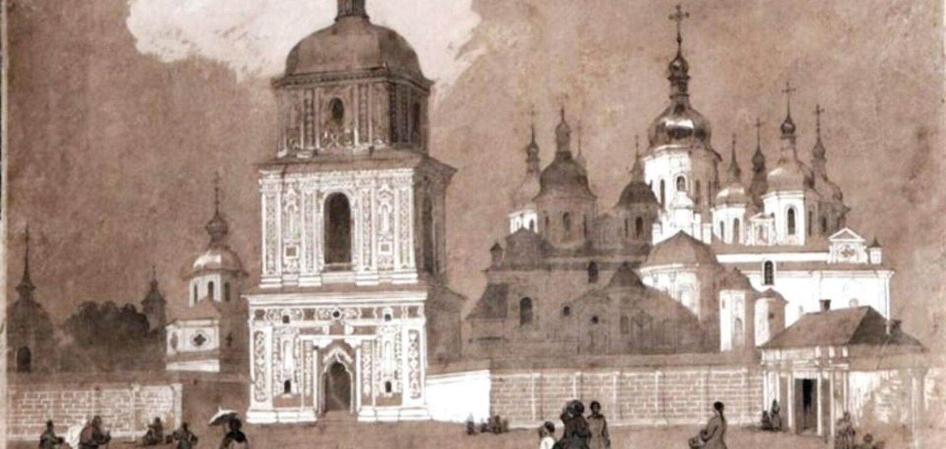 Київ на картині Шевченка
