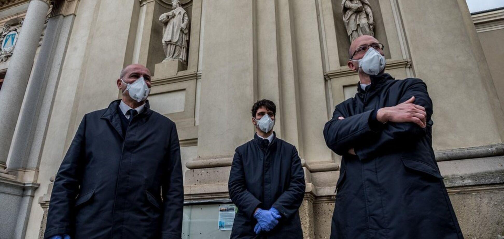 Италию охватила паника из-за коронавируса