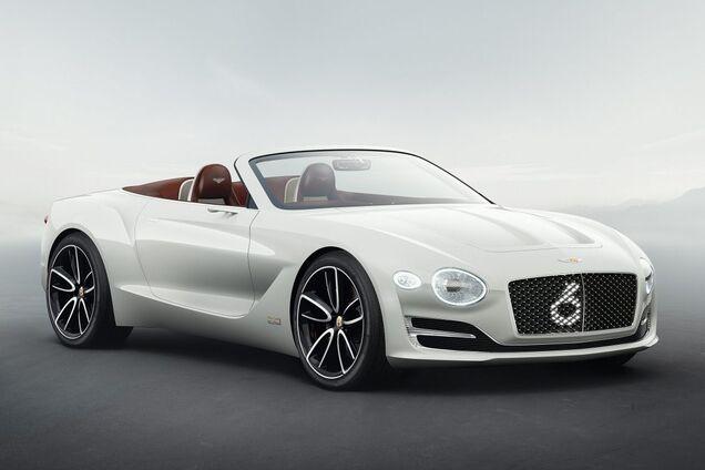 Концепт электромобиля Bentley