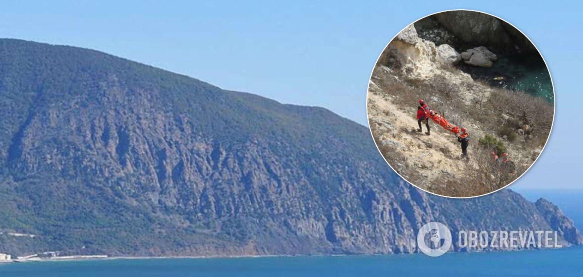 У Криму розбився на смерть турист