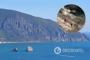 В Крыму разбился насмерть турист