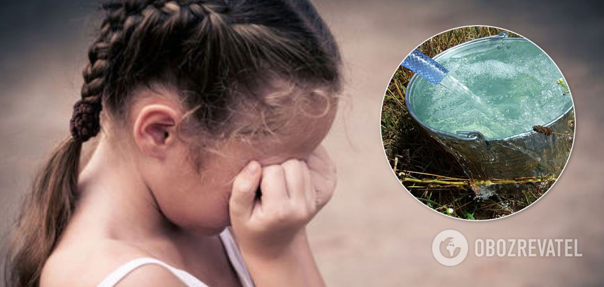 В Херсоне мать выставила 6-летнюю дочь голой на улицу и обливала водой. Фото издевательств