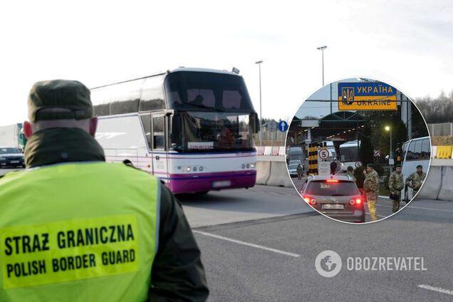 Польша вводит санитарный контроль на границе с Украиной