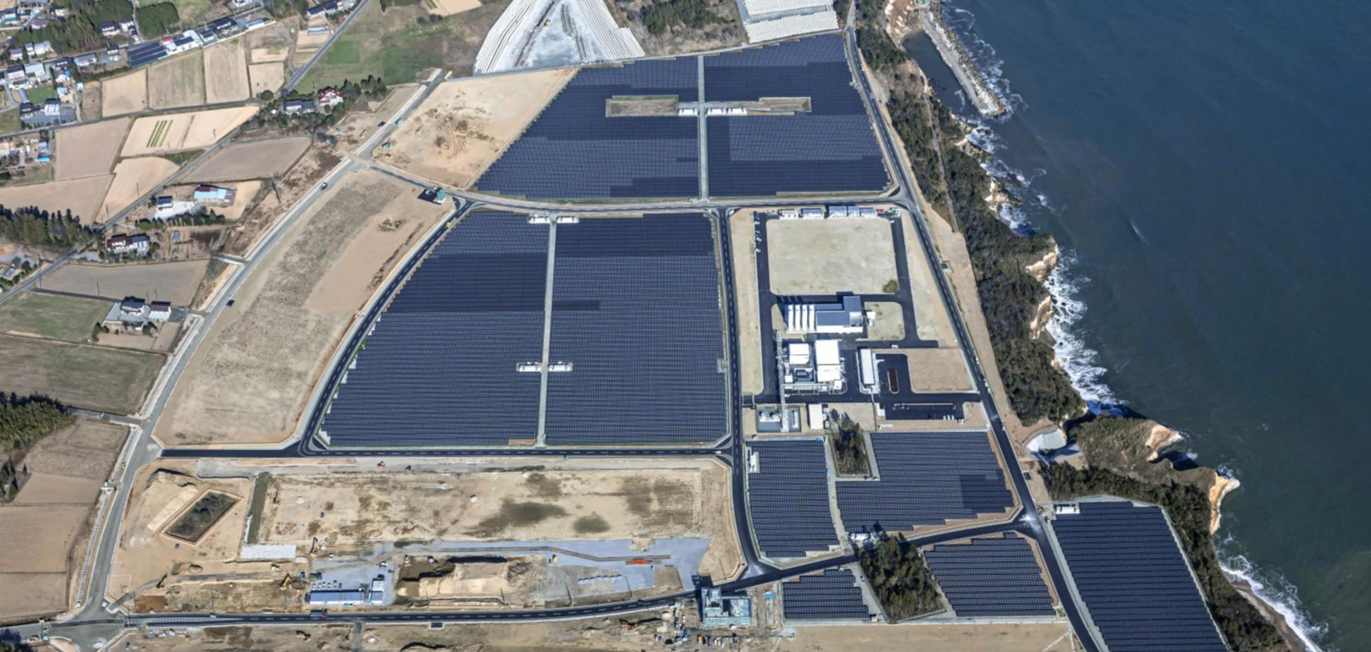На Фукусімі почали добувати водень за допомогою енергії сонця