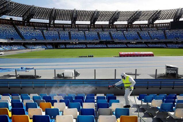 В Італії призупинили всі спортивні змагання до 3 квітня