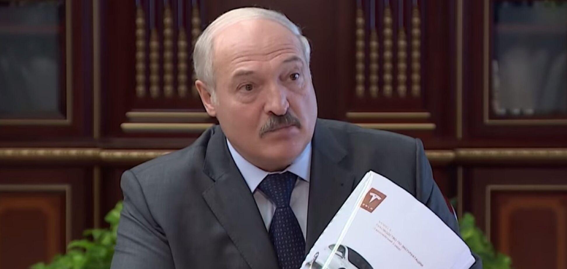 Лукашенко назвав справжню мету покупки електромобіля Tesla