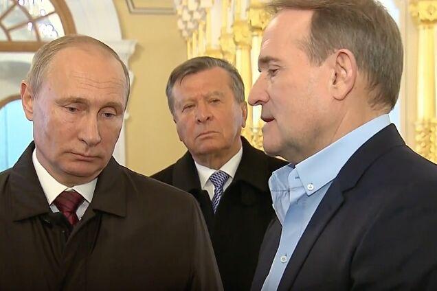Володимир Путін і Віктор Медведчук