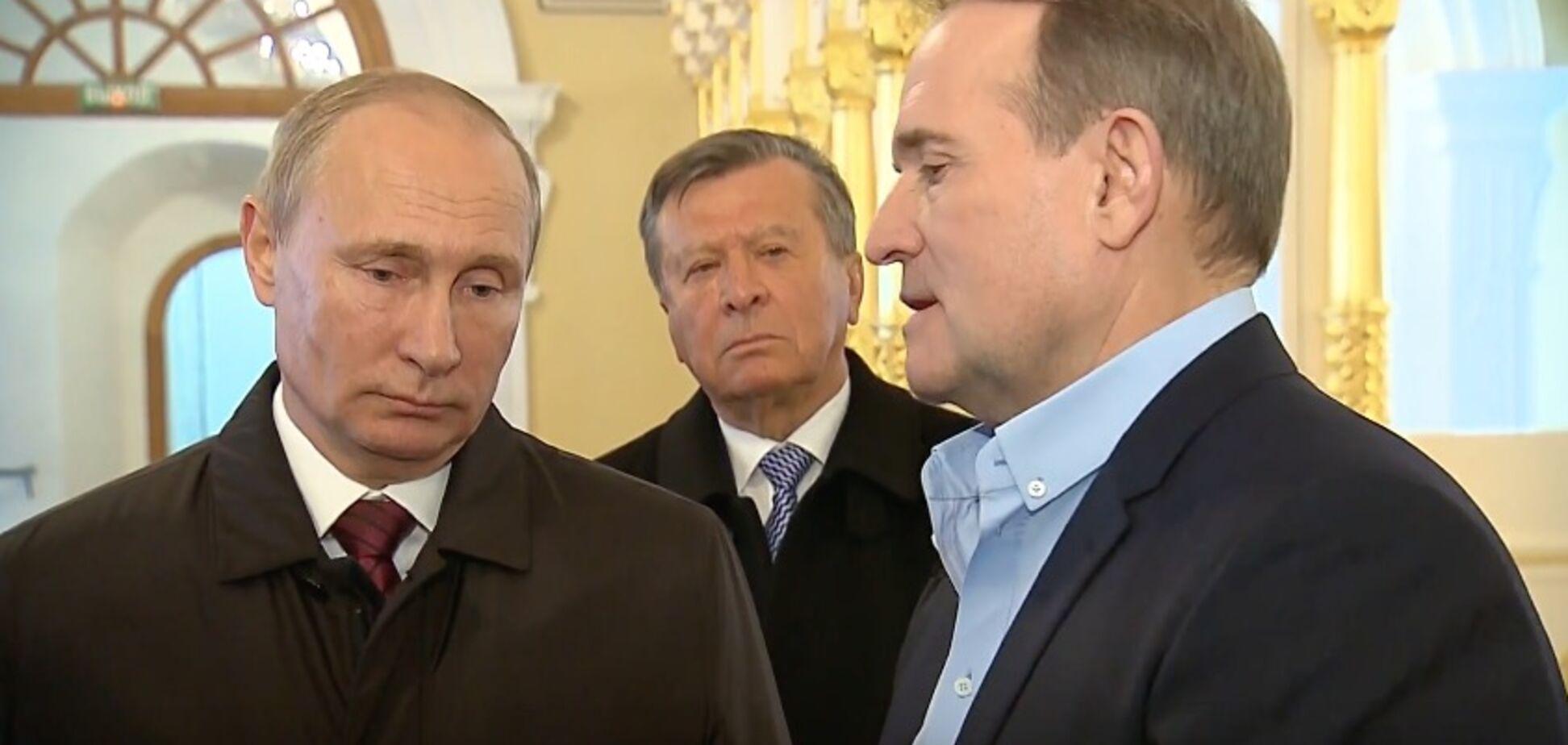Медведчук в Кремле переговорил с Путиным