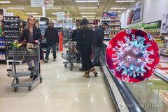 У супермаркетах скуповують товари через коронавірус