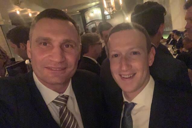"""Кличко освідчився у """"коханні"""" Цукербергу"""