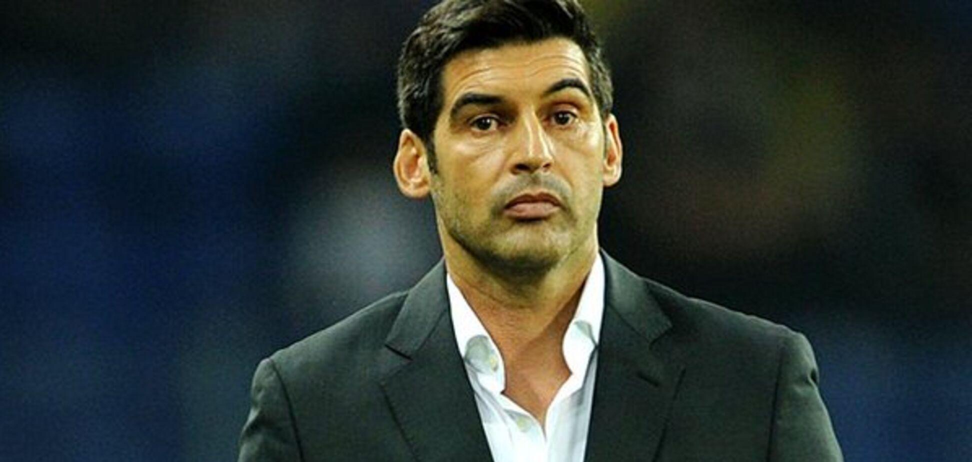 Команді екстренера 'Шахтаря' заборонили їхати на матч Ліги Європи