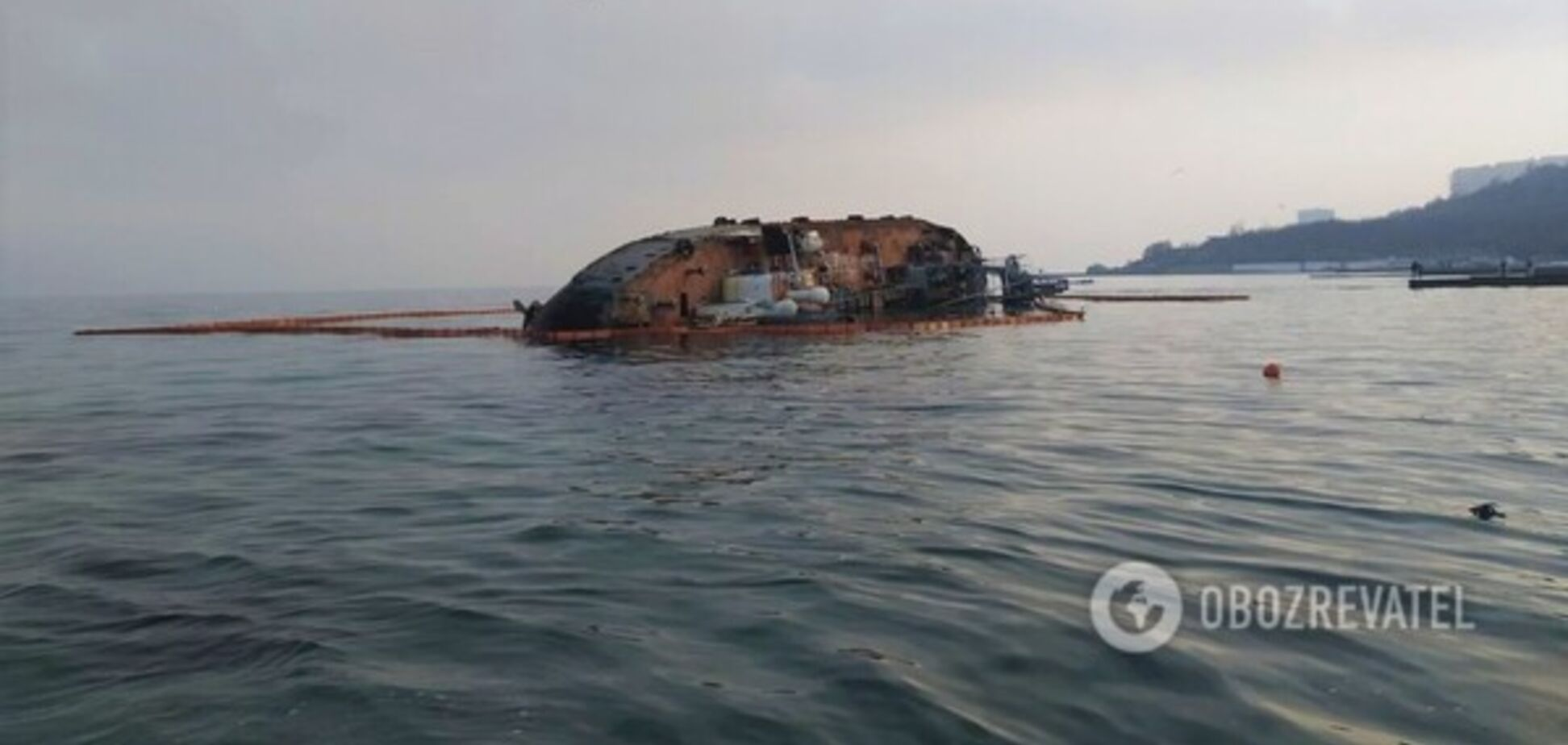 В Одесі влаштували бізнес навколо затонулого танкера Delfi